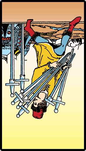 Seven of Swords (Reverse)