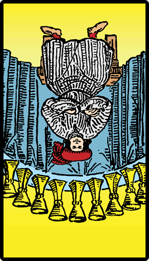 Nine of Cups (Reverse)