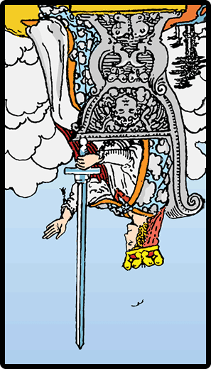 Queen of Swords (Reverse)