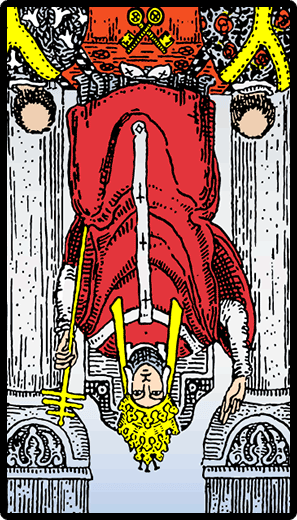 The Hierophant (Terbalik)