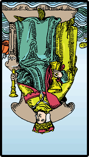 King of Cups (Reverse)