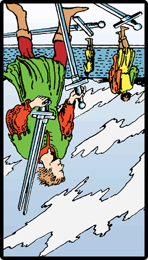 Five of Swords (Reverse)