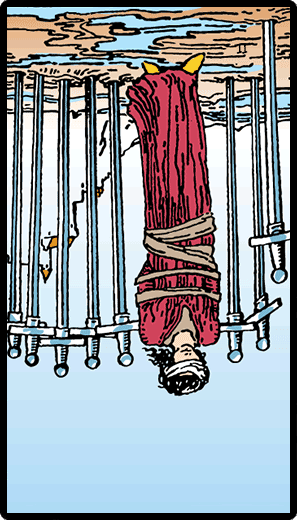 Eight of Swords (Reverse)