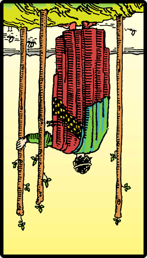 Three of Wands (Reverse)