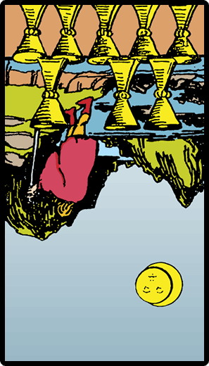 Eight of Cups (Reverse)