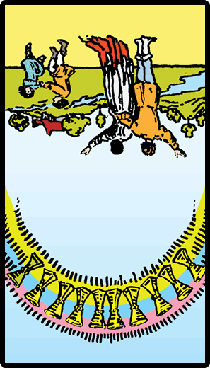 Ten of Cups (Reverse)