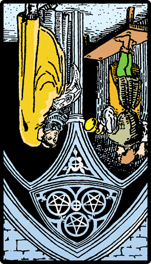 Three of Pentacles (Reverse)